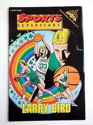 Larry Bird 6 - Sports Superstars - Boston Celtics Legend Hall Of Fame