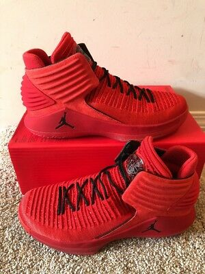 e97350df1be Nike Air Jordan 32 XXXII Rosso Corsa Gym Red Size 9.5 AA1253-601 Banned BRED