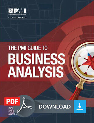 The PMI Guide to Business Analysis PMBOK - PDF