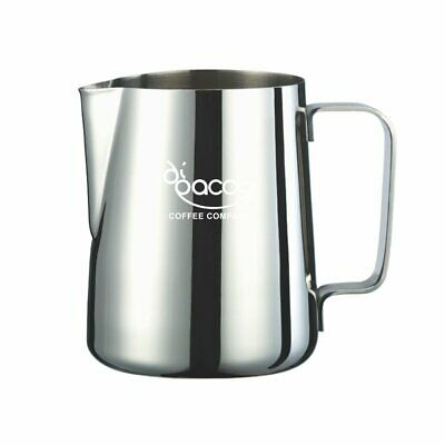 Di Pacci Stainless Steel Coffee Milk Frothing Jug 300ml 600ml 1000ml