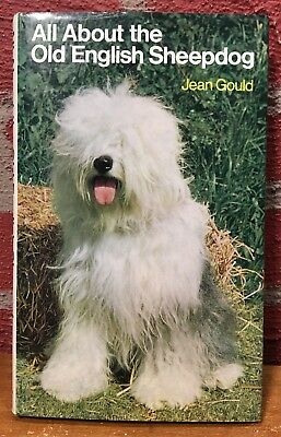 Vintage Dog Book - All About the Old English Sheepdog by Jean Gould