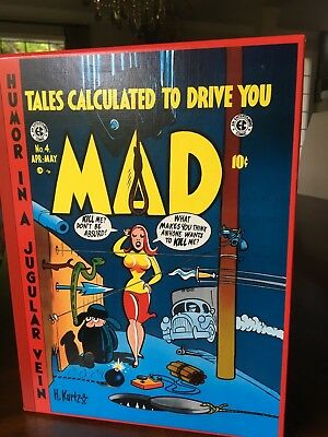 The Complete MAD in Color, Russ Cochran 4-volume EC Library Set