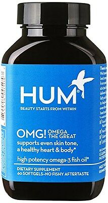 HUM Nutrition - OMG! Omega the Great - Pure + Sustainable Fish Oil 02/2021