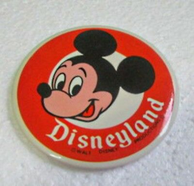 "Vintage Mickey Mouse Pin Walt Disney Productions 3 1/2""  Dates in the 1970s"