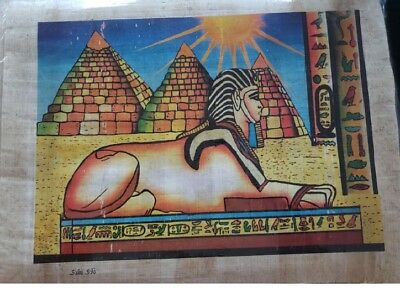 Ancient Egyptian Papyrus Hand Made Pictures, New, handmade, 11x7, pharohs