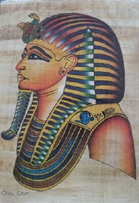 Ancient Egyptian Papyrus Hand Made Pictures, New, handmade, pharohs