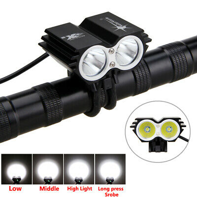 SolarStorm 8000LM XM-L T6  LED Road Bike Lamp Bicycle Light Headlight Headlamp K