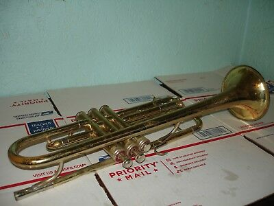 Vintage Cleveland Superior Trumpet By King parts or repair 218009