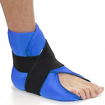 Foot Ankle Gel Wrap Hot Cold Therapy Support Relax Muscle Pain Relief Ice Pack