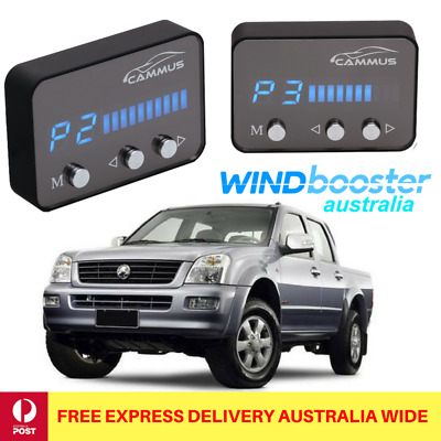 Windbooster throttle controller to suit RA7 Holden Rodeo 2007-2009