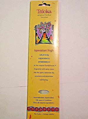 Triloka Original Herbal Hawaiian High Incense Sticks