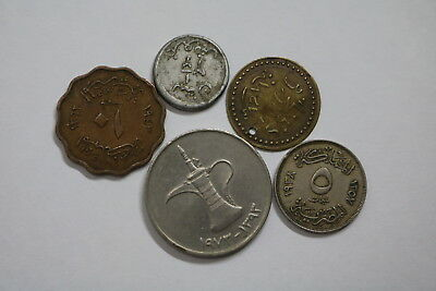 Islamic Old Coin Set With Silver A88 Rbbb28