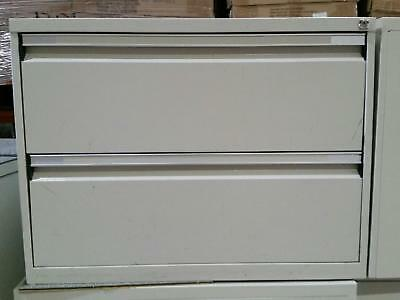 Metal 2 Drawer Lateral Filing Cabinet/Storage cabinet