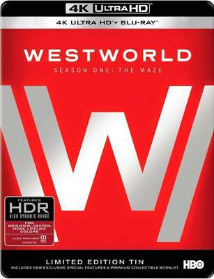 Westworld: The Complete First Season 4K Ultra HD Limited Edition Tin + Blu-ray