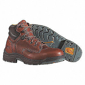 TIMBERLAND PRO Work Boots,Alloy,Men's,9,XW,PR, 26063, Brown