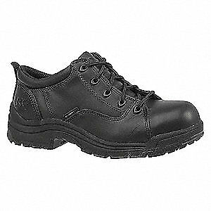 TIMBERLAND PRO Work Shoes,Alloy,Womens,10M,Black,PR, 90670, Black