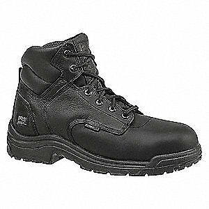 TIMBERLAND PRO Work Boots,Cmp,Mens,15M,6In,Blk,PR, 50507, Black