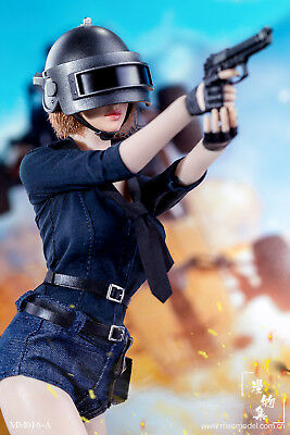 "In-Stock Manmodel 1/6 Scale MM016 Chicken Dinner Female Conbat Suit 12"" figure"