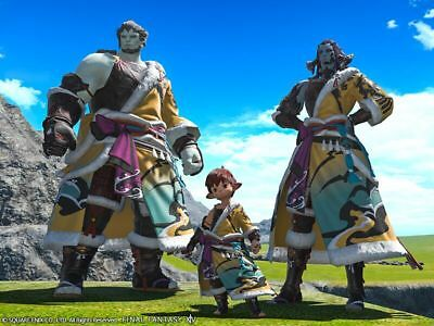 FINAL FANTASY XIV FFXIV FF14 Item Character Lord Hien's Attire - Code Not Gil