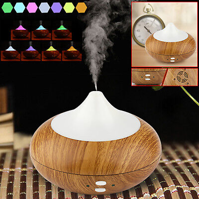 Electric Ultrasonic Air Humidifier Purifier LED Oil Aroma Diffuser Aromatherapy