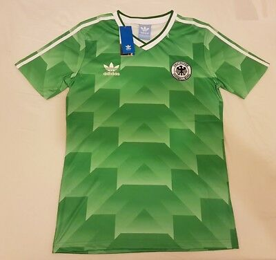 1990 West Germany Away Retro Football Soccer Shirt jersey Vintage Classic