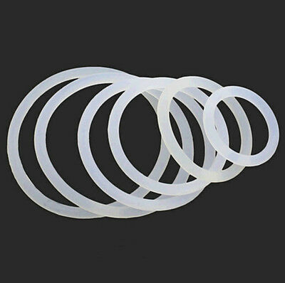 Waterproof Oil Rubber Washer Silicone O-Seal Wire Diameter3mm Ring Gasket Washer