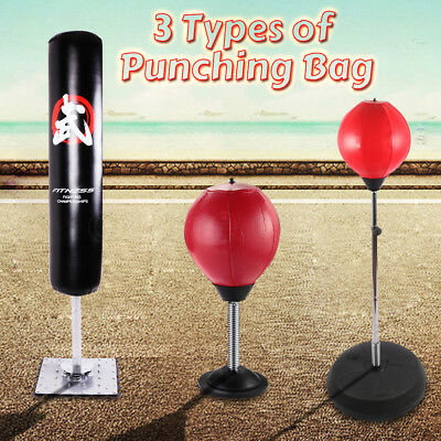 Free Standing Punching Bag Boxing Speed Ball MMA Target Dummy Kick Home Gym NEW