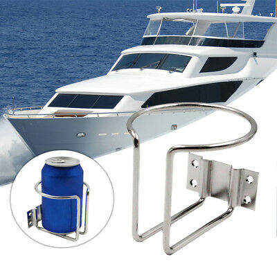 Stainless Steel Ring Cup Drink Holder Fit For Marine Yacht Truck RV Car Boat