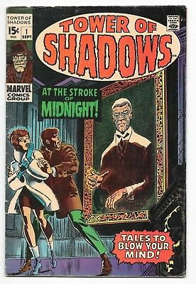 TOWER OF SHADOWS #1 ROMITA COVER STERANKO ART 1969 Hi-Res scans