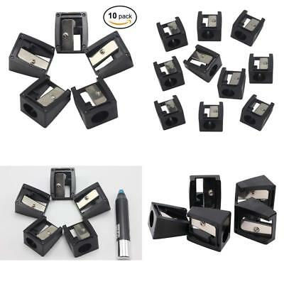 10 Pcs Bulk Manual Cosmetic Pencil Sharpeners, 16Mm Large Hole For Thick Eyebrow