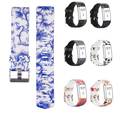 For Fitbit Charge 2 Soft Silicone Replacement Spare Watch Band Strap