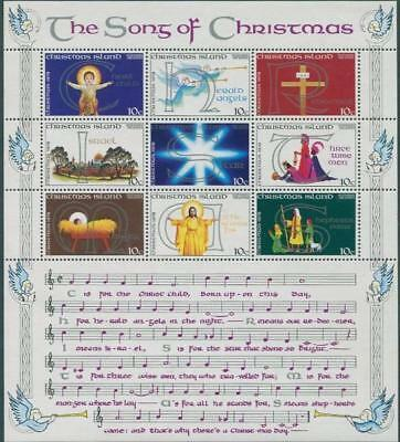 Christmas Island 1978 MNH MUH - Christmas - The Songs of Christmas