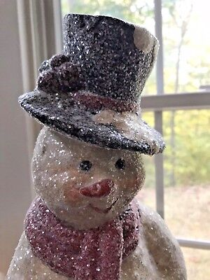 Christmas SNOWMAN WITH BAG CONTAINER