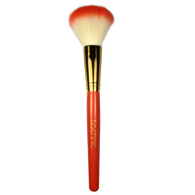 Technic Cosmetic Blusher Make-Up Brush with Lasting Soft Synthetic Bristles