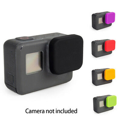 1/2Pcs Soft Silicone Protective Lens Cap Case Cover For GoPro Hero 6 5 Cameras
