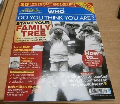 Who Do You Think You Are magazine #142 Aug 2018 Start your family tree & more