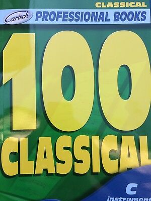 Professional Books - 100 Classical - for C Instruments
