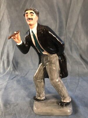 1991 Royal Doulton Groucho Marx Figurine HN 2777 Limited Edition Mint