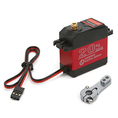 Wasserdicht DS3218MG 60g Digital Servo Metal Gear 20KG Torque for RC Car Robot