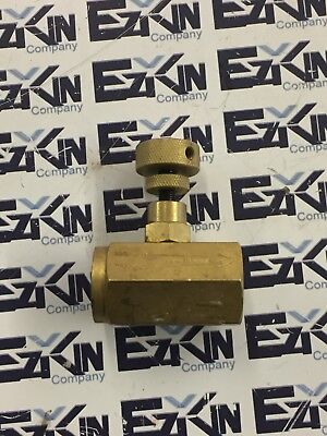 Flow control valve Throttle valve NN 1/2-3  3000PSI  Hydraulic