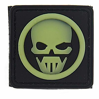 Emblem 3D PVC Ghost Gespenst Klett Patch Abzeichen Aufnäher glow in the dark
