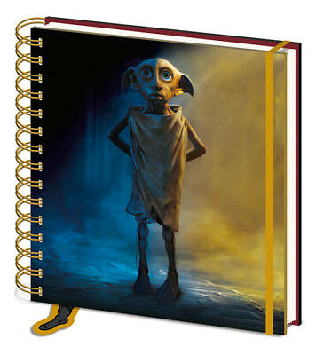 Harry Potter Dobby Square Notebook Journal Spells Wizard School College