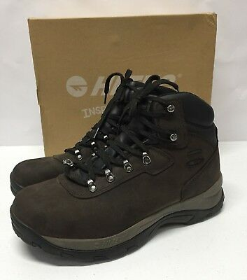 1979018c2ef95d HI-TEC MEN'S ALTITUDE IV Waterproof Hiking Boots Brown Shoe Size 13 ...
