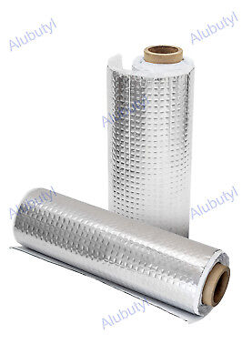 2 rolls 50x500 cm Car Van Sound Deadening Mat 5 sqm Car Insulation Soundproofing