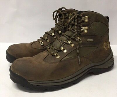 28a61fcfa5b TIMBERLAND MENS CHOCORUA Trail with Gore-Tex Membrane Hiking Boots Brown  Size 12