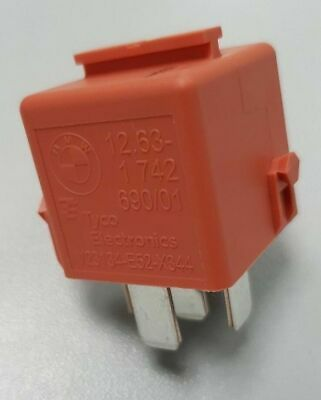 BMW Genuine Relay (Salmon Red) - 12631742690