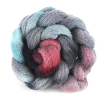 Hand Dyed Texel Wool 100g 3.5oz Combed Wool Top Fibre Felting TX02 Shunklies