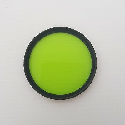 Nikon 52mm X0 Green Filter in original protective case