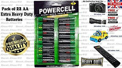 AA Batteries 22 Pack Power Cell Heavy Duty **Brand new: Cheap Price **