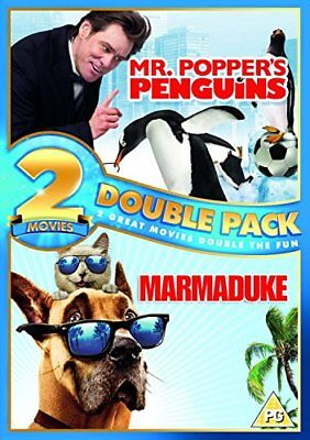 Mr. Poppers Penguins/ Marmaduke Double Pack [DVD] [2010][Region 2]